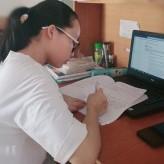 Nghị lực và ước mơ của nữ sinh viên khuyết tật Khoa Công nghệ thông tin